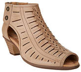 Earth Leather Cut-out Heeled Sandals -Vicki