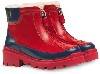Gucci Kids Front Zip Boots