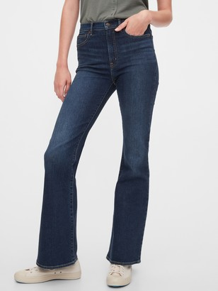 Gap High Rise Flare Jeans