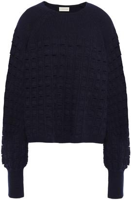 By Malene Birger Open-knit Wool-blend Sweater