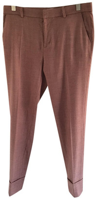 Closed Pink Wool Trousers