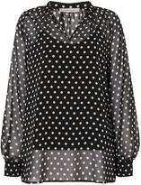 Marella Year polka dot blouse