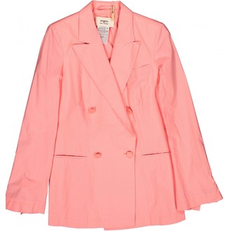 Ports 1961 Pink Cotton Jacket for Women