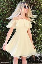 Forever 21 Chiffon Halter Neck Dress