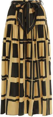 Zimmermann Resistance Gathered Skirt