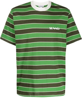 Sunnei striped pattern T-shirt