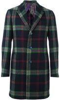 Etro plaid coat