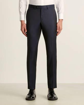 Ted Baker Navy Jarrett Wool Pants