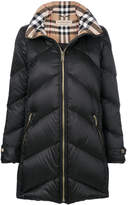 Burberry Chevron padded coat