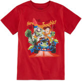 Disney Here Comes Trouble Graphic Tee