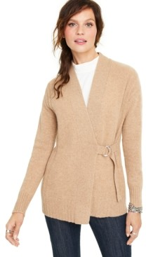 Charter Club Cashmere D-Ring Cardigan, Created for Macy's