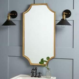 west elm Scalloped Edge Mirror
