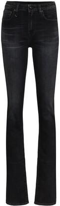 R 13 Alison ankle zip skinny jeans