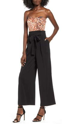 J.o.a. Strapless Jumpsuit