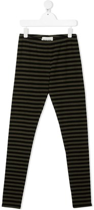 Touriste TEEN striped leggings
