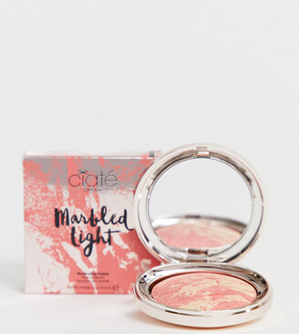 Ciaté London X ASOS EXCLUSIVE Marbled Light Illuminating Blush - Flare