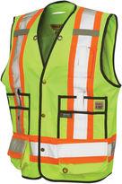 JCPenney Work King High Visibility Surveyor Vest