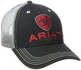 Ariat Men's Black Red Gray Mesh Hat