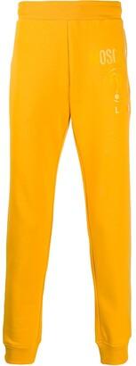 Moschino Tonal Logo Print Track Pants