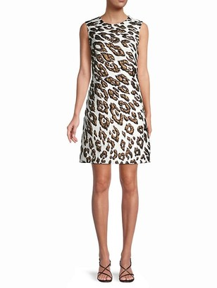 Oscar de la Renta Mini Sheath Dress