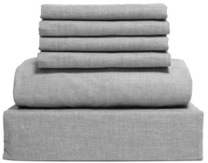 Lintex Chambray 6-Piece Sheet Set, Size- Queen Bedding