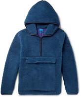 Beams - Fleece Hooded Half-Zip Sweater