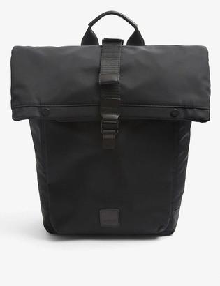 Knomo Fulham Novello roll-top nylon backpack