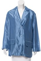 Stella McCartney Oversize Silk Blazer