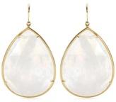 Irene Neuwirth 18kt Yellow Gold Rainbow Moonstone Earrings