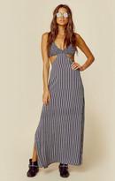 Indah cutaway maxi dress