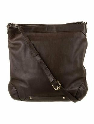 Max Mara Pebble Leather Tote Bag Brown