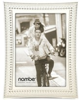 "Nambe Beaded 5"" x 7"" Frame"