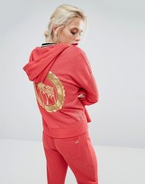 Juicy Couture Glamours Palms Hi-Low Jacket