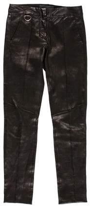 A.L.C. Leather Skinny Pants