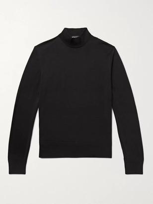 Tom Ford Slim-Fit Wool Mock-Neck Sweater