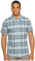 Quiksilver Everyday Check Short Sleeve Shirt Men's Short Sleeve Pullover