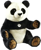"Steiff Pummy Panda - Black/White - 31"""