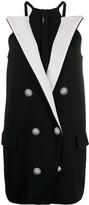 Balmain short blazer dress
