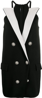 Balmain Short Blazer Dress