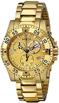 Invicta Women's 16102 Excursion Analog Display Swiss Quartz Gold Watch