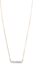 Adina Pave Bar Necklace