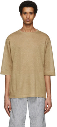 House of the Very Islands Beige Linen Rear Mirror T-Shirt