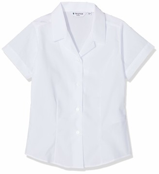 Trutex Girl's Nrf-wht School Top