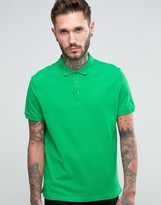 Armani Jeans Polo Shirt With Logo Regular Fit In Green
