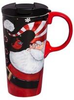 Evergreen Ho Ho Ho Perfect Cup 17oz Ceramic