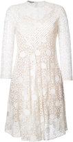 Stella McCartney polka dot lace dress - women - Cotton/Polyester - 38