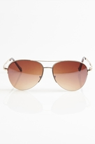Garage Gold Aviator Sunglasses