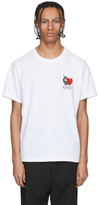 Kenzo White Limited Edition Valentines Day Lucky Star T-Shirt