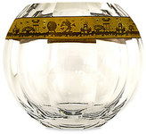 Disney Walt World Crystal Hemisphere Vase with Gold by Arribas Brothers - Limited Edition