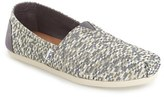 Toms Women's 'Classic - Glitz' Woven Slip-On